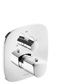 KLUD AMEO Podtynkowa bateriawannowo-natryskowaz termostatem