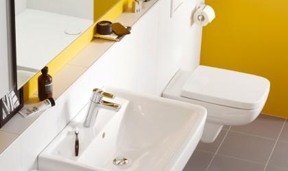 Aranżacja łazienki z zastosowaniem produktów producenta armatury KLUDI.