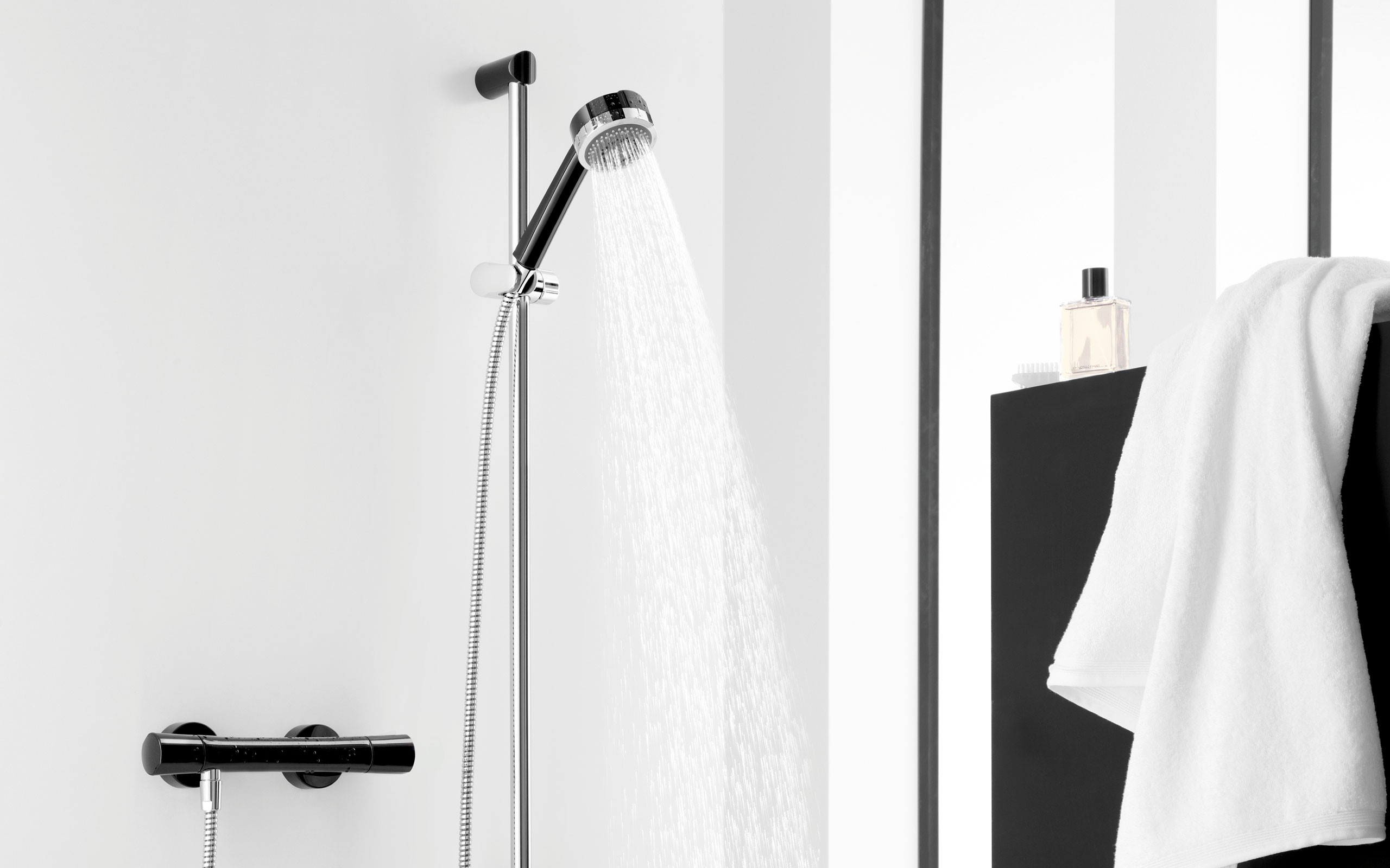 KLUDI ZENTA BLACK&WHITE Armatura łazienkowa