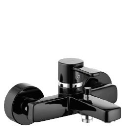 KLUDI ZENTA BLACK&WHITE Jednouchwytowa bateriawannowo-natryskowa
