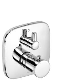 KLUDI AMBIENTA Podtynkowa baterianatryskowaz termostatem