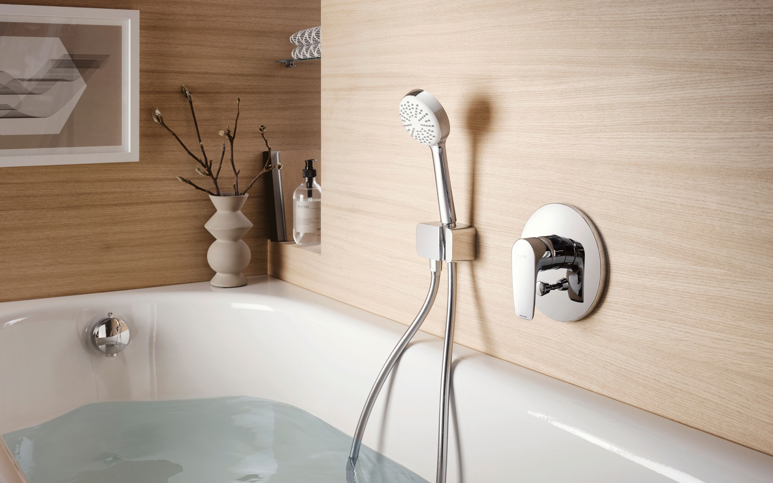 KLUDI PURE&SOLID Koupelnové baterie