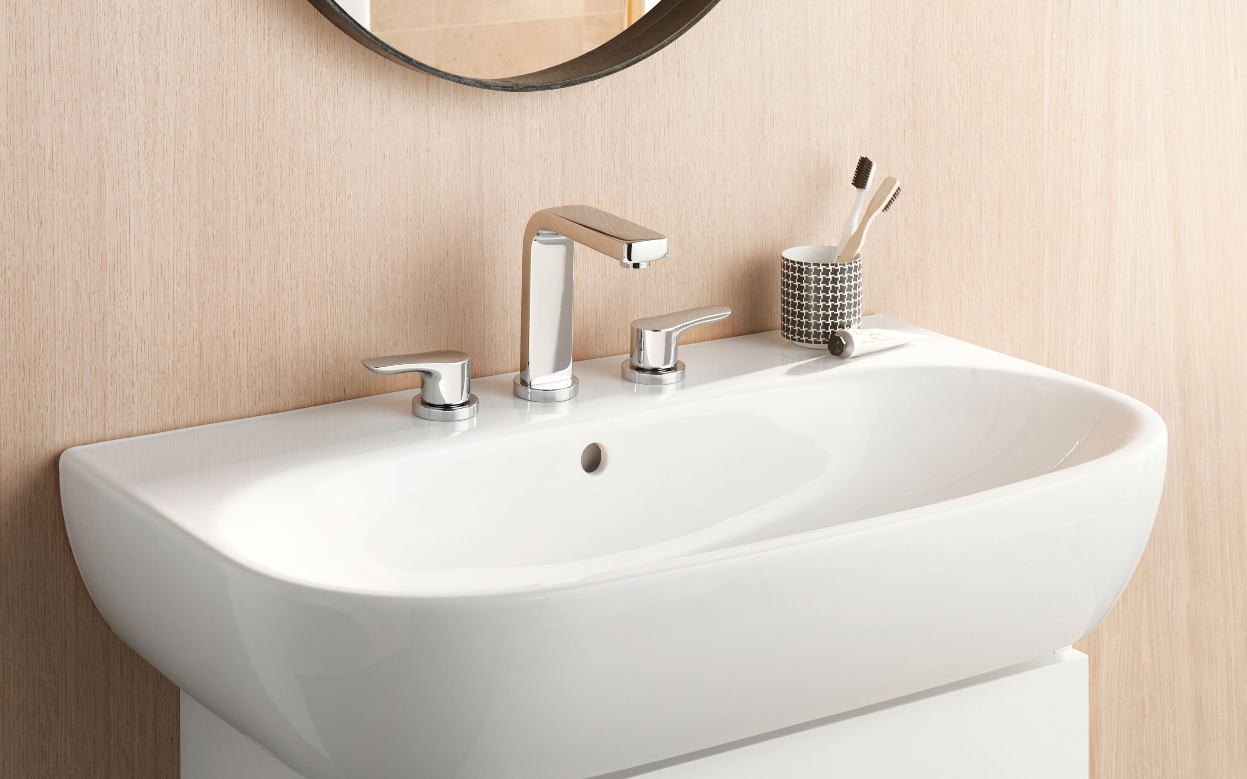 KLUDI PURE&SOLID Armatura łazienkowa