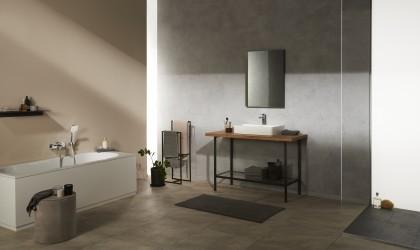 Piękno ukryte w geometrycznej formie – geometryczne rozwiązania w łazience