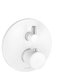 KLUDI BALANCE WHITE Jednouchwytowa baterianatryskowa z termostatem